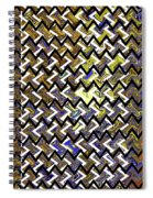 L T Z Abstract Spiral Notebook