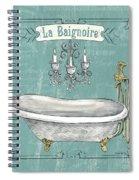 La Baignoire Spiral Notebook