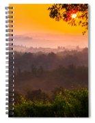 La Bella Toscana Spiral Notebook
