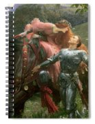 La Belle Dame Sans Merci Spiral Notebook