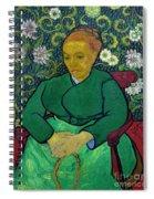 La Berceuse, Portrait Of Madame Roulin, 1888-1889, Kroller-mulle Spiral Notebook