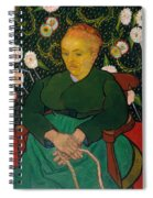 La Berceuse. Woman Rocking A Cradle. Augustine-alix Pellicot Roulin Spiral Notebook