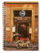 La Bicicletta Spiral Notebook