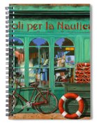 La Bicicletta Rossa Spiral Notebook