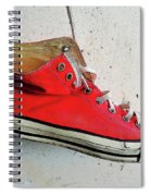 The Artists Boot Spiral Notebook