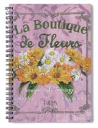 La Botanique 1 Spiral Notebook