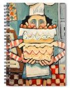 La Boulanger Francaise Spiral Notebook