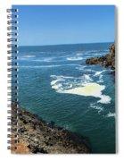 La Bufadora Blowhole Spiral Notebook