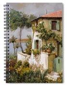 La Casa Giallo-verde Spiral Notebook