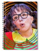 La Chilindrina In A Spin Spiral Notebook