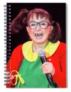 La Chilindrina Laughing Spiral Notebook