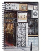 La Cigalena Old Restaurant Spiral Notebook
