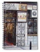 La Cigalena Old Restaurant Spiral Notebook