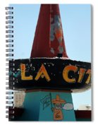 La Cita In Tucumcari On Route 66 Nm Spiral Notebook