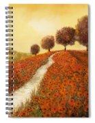 La Collina Dei Papaveri Spiral Notebook