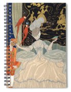 La Comtesse From Personages De Comedie Spiral Notebook