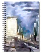 Paris La Defense Spiral Notebook