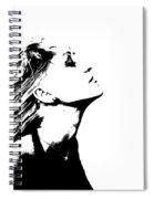 La Dolce Vita Lady I Spiral Notebook