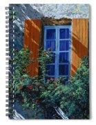 La Finestra E Le Ombre Spiral Notebook
