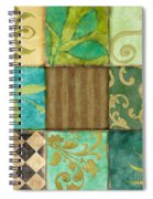 La Fleurs De La Terre Spiral Notebook