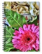 La Flor De La Castellana Spiral Notebook