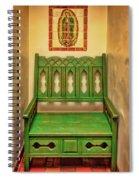 La Fonda Bench Spiral Notebook