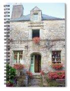La Gacilly, Morbihan, Brittany, France, Shop Spiral Notebook