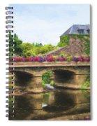 La Gacilly, River Aff, Brittany, France Spiral Notebook