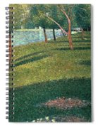 La Grande Jatte Spiral Notebook