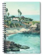 La Jolla Cove In December, La Jolla, San Diego, California Spiral Notebook