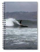 La Jolla Cove Surf Spiral Notebook