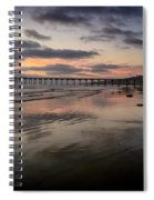 La Jolla Pier Spiral Notebook