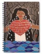 La Llorona Spiral Notebook