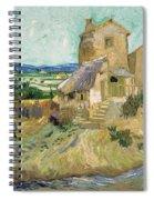 La Maison De La Crau The Old Mill Spiral Notebook