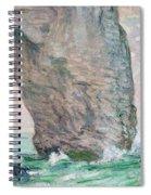 La Manneporte A Etretat Spiral Notebook