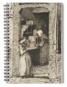 La Marchande De Moutarde Spiral Notebook