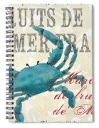 La Mer Shellfish 1 Spiral Notebook