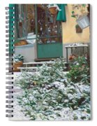 La Neve A Casa Spiral Notebook