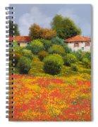 La Nuova Estate Spiral Notebook