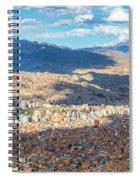 La Paz Cable Car Spiral Notebook