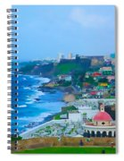 La Perla In Old San Juan Spiral Notebook