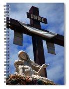 La Pieta Spiral Notebook