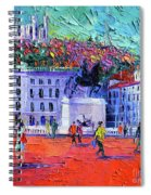 La Place Bellecour A Lyon Spiral Notebook
