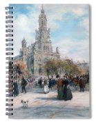 La Place De Trinite Spiral Notebook