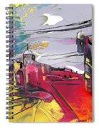 La Place Rouge Espagnole Spiral Notebook