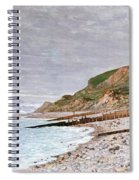 La Pointe De La Heve Spiral Notebook