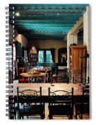 La Posada Historic Hotel Lounge Spiral Notebook