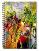 La Provence 05 Spiral Notebook