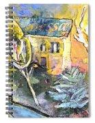 La Provence 11 Spiral Notebook