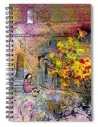La Provence 13 Spiral Notebook
